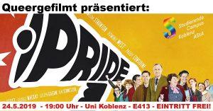 Queergefilmt: Pride @ Raum E 413, Universität Koblenz | Koblenz | Rheinland-Pfalz | Deutschland